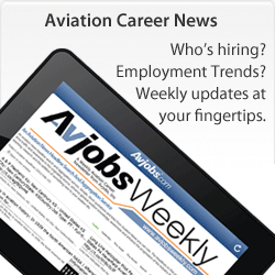 Keep Aviation Employment Opportunities Coming to You!